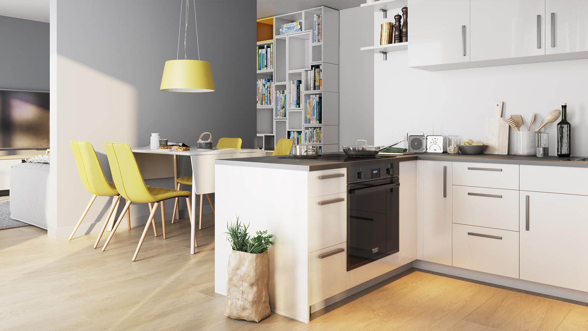 Immobilienmarketing EberhardsHoefe Visualisierung